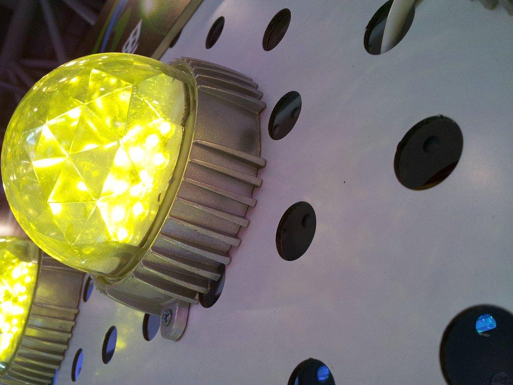 LED柠檬黄点光源